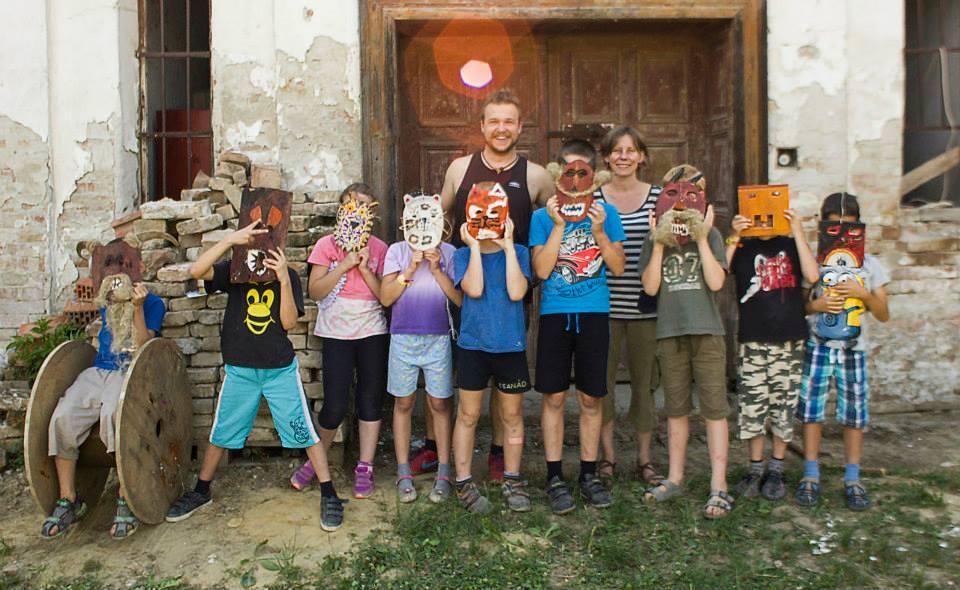 Fafaragó tábor 2016 Dunaszekcső